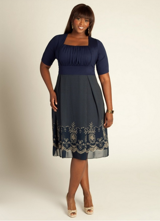 plus size dress young meryl