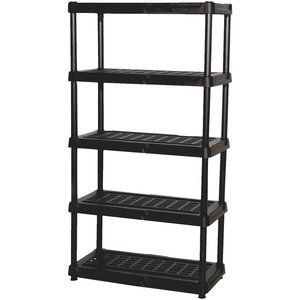 "Check out ""Centrex Fundamentals 5-Tier Ventilated Plastic Shelving"" from Valu"