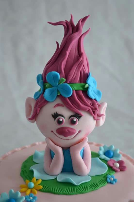 107 best troll cake images on pinterest troll party princess poppy and 4th birthday. Black Bedroom Furniture Sets. Home Design Ideas