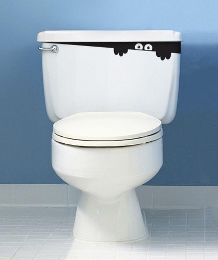 Monster - Vinilo Adhesivo, decoración de baños. $20.000 COP. Encuentra más vinilos adhesivos en www.giferent.com/vinilos-decorativos-adhesivos
