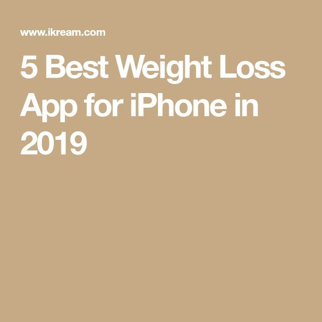 5 Best Weight Loss App for iPhone in 2019 – #app #iphone #loss #weight