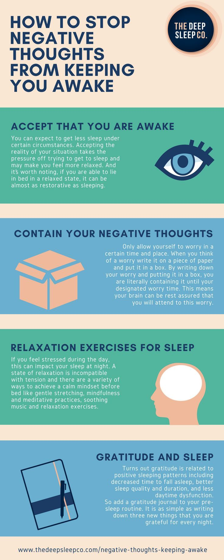 How To Stop Negative Thoughts From Keeping You Awake At Night Natural Sleep Remedies Sleep Remedies Negative Thoughts