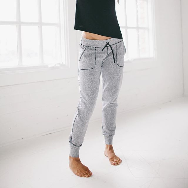RESTOCK ALERT! The more (sweatpants) the merrier!  Our best-selling At Ease Joggers are back just in time for cozy season! Hurry and grab your size before they're gone (again)!