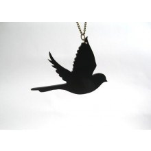 Possible tattoo? -- Flying bird silhouette