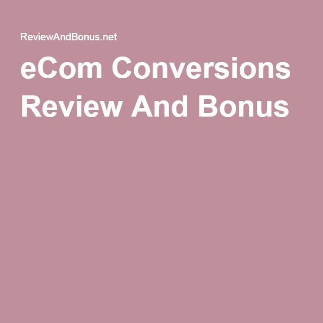 eCom Conversions is the most complete training on how to rapidly grow an eCommerce business using conversion rate optimization. This groundbreaking training is ideal for intermediate and advanced Shopify store owners.