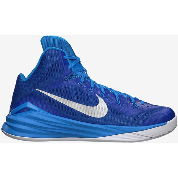Nike Hyperdunk 2014 TB Men's Basketball Shoe ($140) ❤ liked on Polyvore featuring men's fashion, men's shoes, mens lightweight running shoes, pointy mens shoes, mens pointed shoes, nike mens shoes and mens breathable shoes