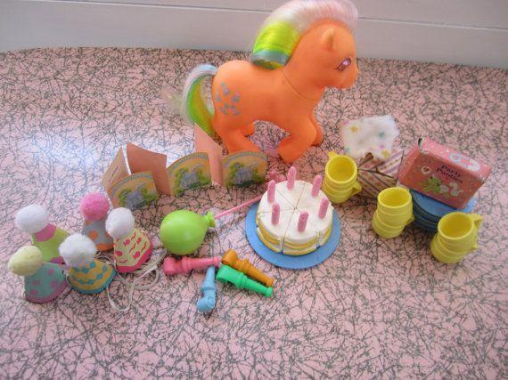 Mon petit poney Birthday Gift Pack Playest poneys par katehartxoxo
