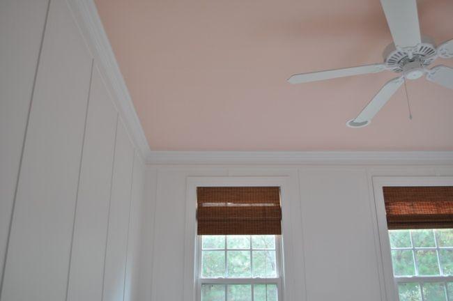 Floor To Ceiling Board And Batten Walls The Ceiling Is Ten