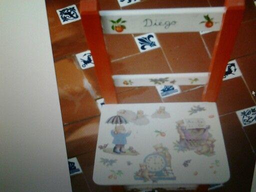 La silla de Diego