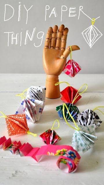 ingthings: Paper Thing DIY (tutorial in Dutch; pics have Dutch & English instructions)