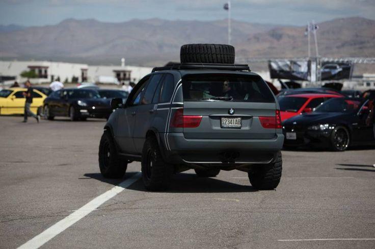 #off #road #BMW #X5 #e53 #troffi #джип #внедорожник #бэха #серый #grey