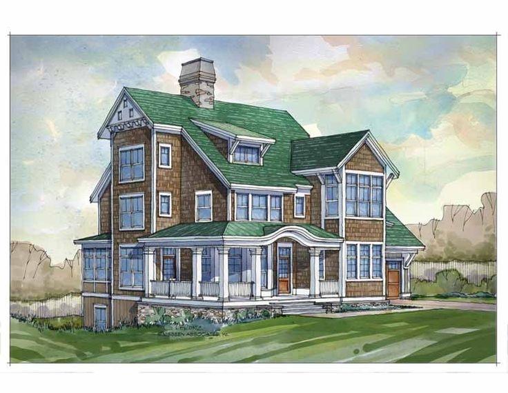 Eplans cottage house plan five bedroom cottage 3641 for Eplans cottage house plan