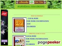 Ayurveda Yoga ebooks