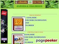 Ayurveda Yoga ebooks