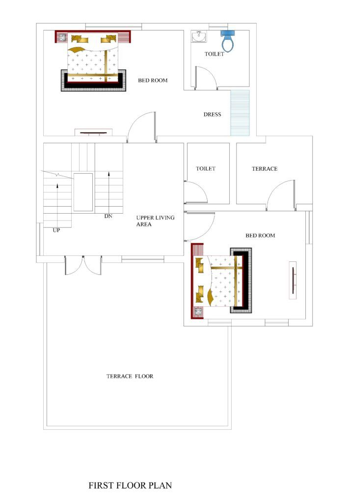 34x50 House Plans For Your Dream House House Plans House Plans Bungalow Design Architectural House Plans