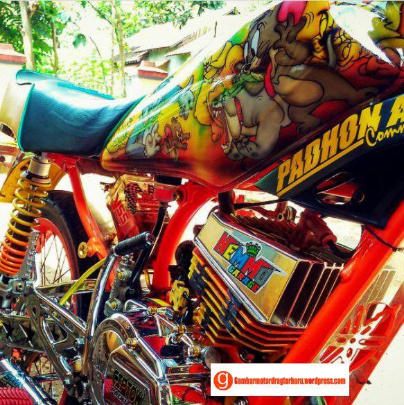45 Gambar Drag Bike Motor Rx King Terbaru Drag Racing Dan Gambar