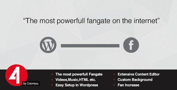 Facebook Like Gate - Wordpress Plugin