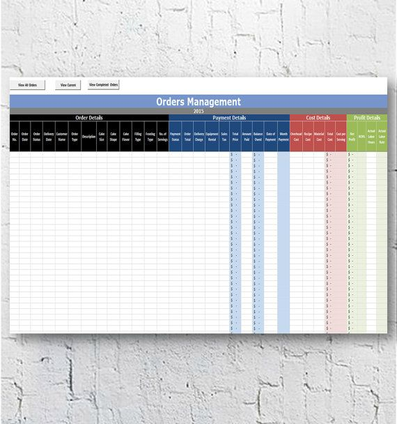 18 best cake pricing images on Pinterest Microsoft excel, Home - excel spreadsheet for inventory management