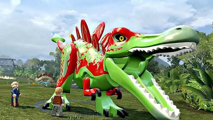 Мир Юрского Периода.Прикольные Динозавры.Игры Мультики про Динозавров.Le...