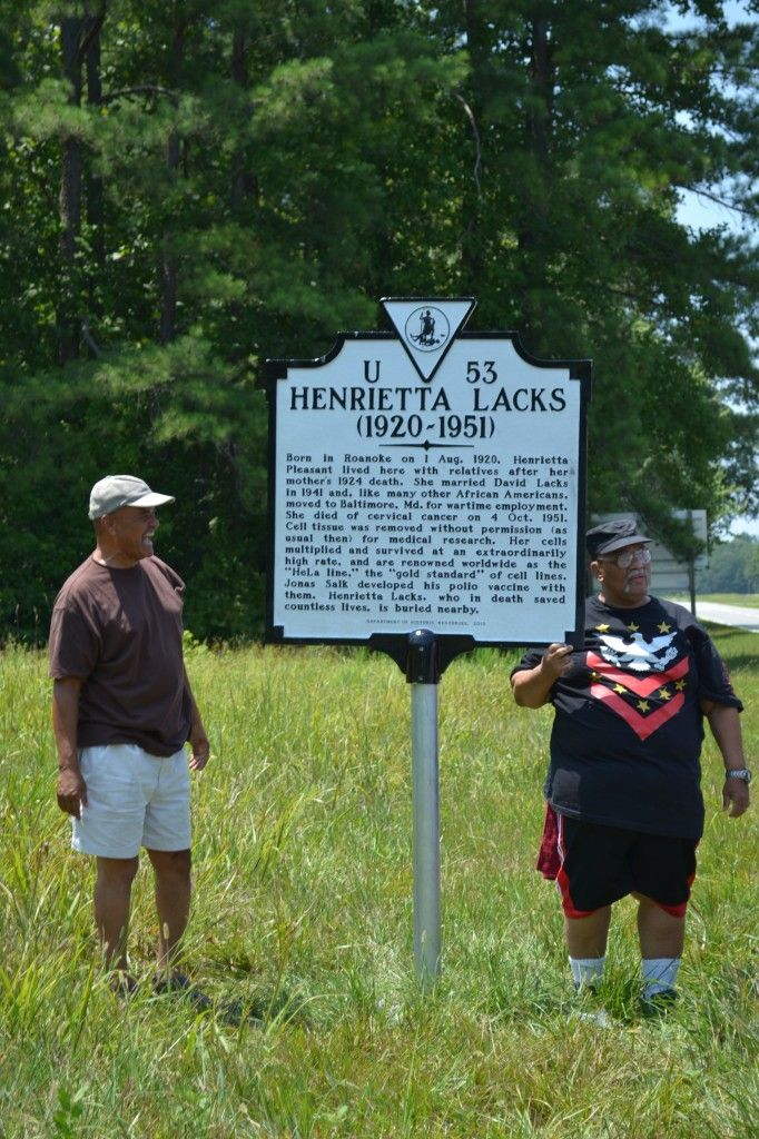 Henrietta Lacks' Legacy Recognized with Virginia Historical Highway Marker