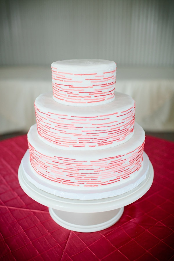 mod: Pink Cakes, Mod Photography, Colors Photography, Modern Wedding Cakes, Cool Patterns, Dreams Wedding Cakes, White Wedding Cakes, Modern Cakes, Pink Wedding Cakes