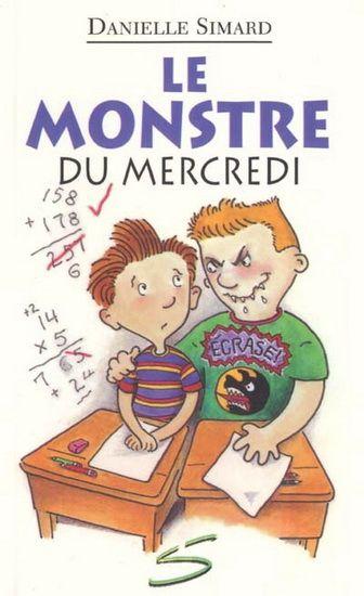 Gr 3 and up Odile place ses élèves en équipe de 2. Julien se retrouve avec le monstre de la classe! Julien a toujours eu peur de ce garçon 3 fois plus gros et 4 fois plus fort que lui. Mercredi, il apprendra le pire : Steve est 5 fois plus cruel qu'il ne le craignait! Comment vaincre un tel monstre?