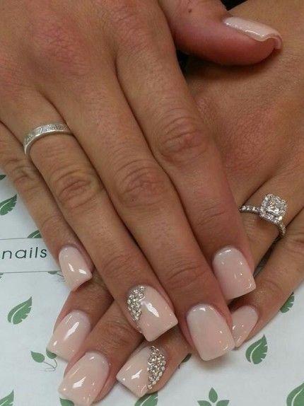 nail art sposa