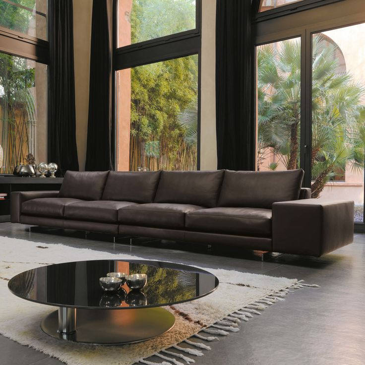 Agon Sectional, luxury Contemporary Italian Living Room Design at Cassoni.