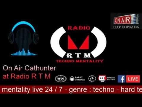 On air Cathunter at radio rtm