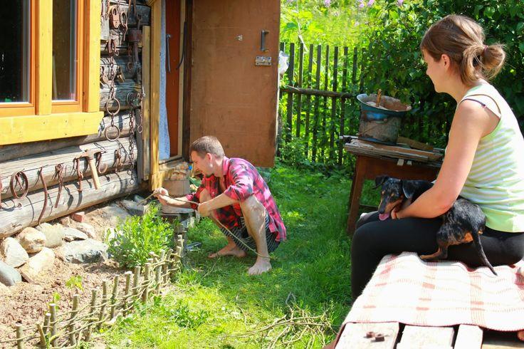 Жизнь горожанки в деревне: (-5)   Лето с детьми   Часть 5 -  Плетень и старый...
