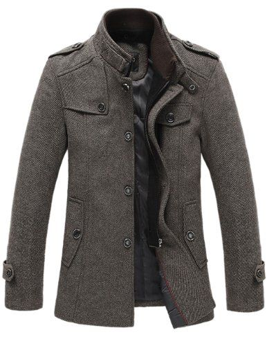 Match Mens Wool Winter Coat Slim Fit Pea Coat(Label size X-Large(US Medium),Coffee-Thin) Match http://www.amazon.com/dp/B00GZGLMQE/ref=cm_sw_r_pi_dp_1UGQtb0JQW6PFEJ9