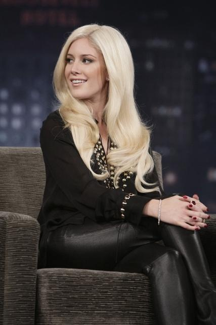 black on black heidi montag