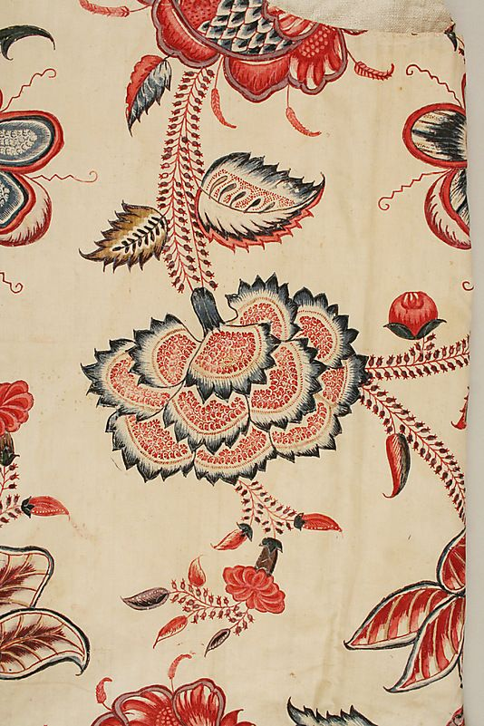 Waistcoat  Date:     1770–90 Culture:     French Medium:     cotton