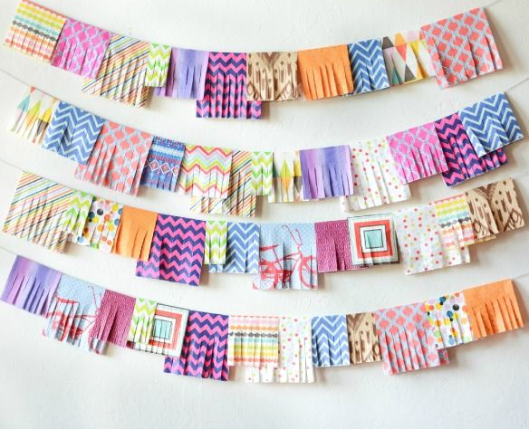 Party Napkin Garland..