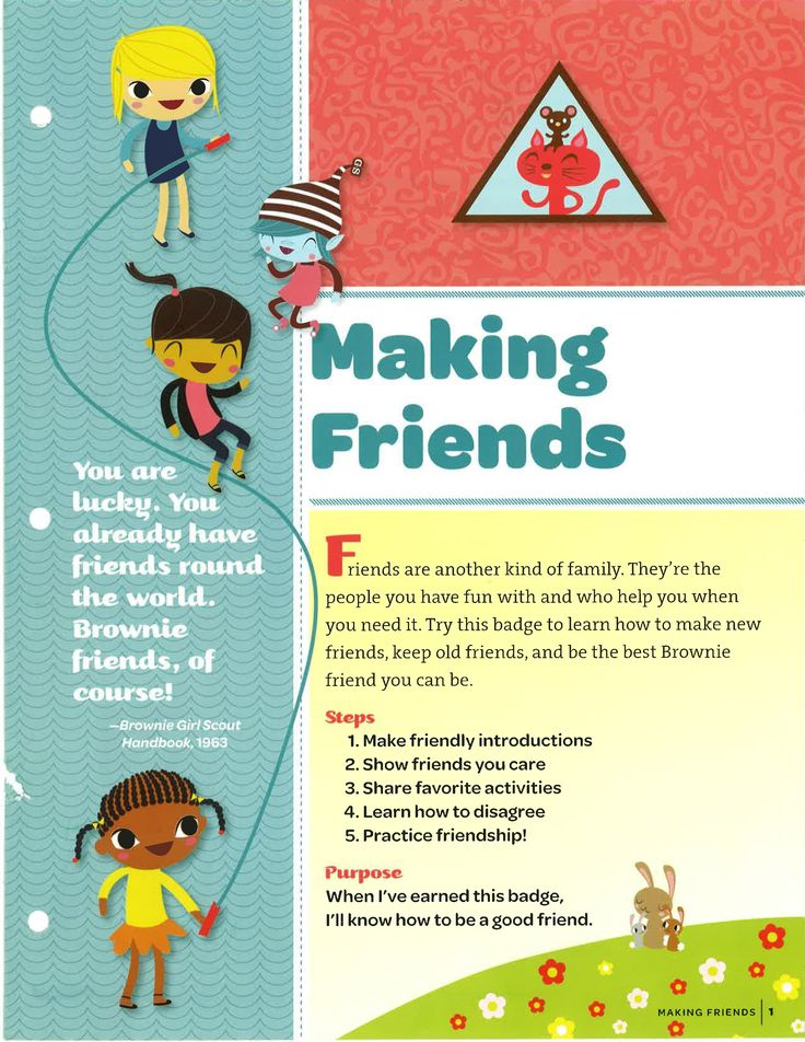 A World of Girls Skill Building Badge - Making Friends: Cover
