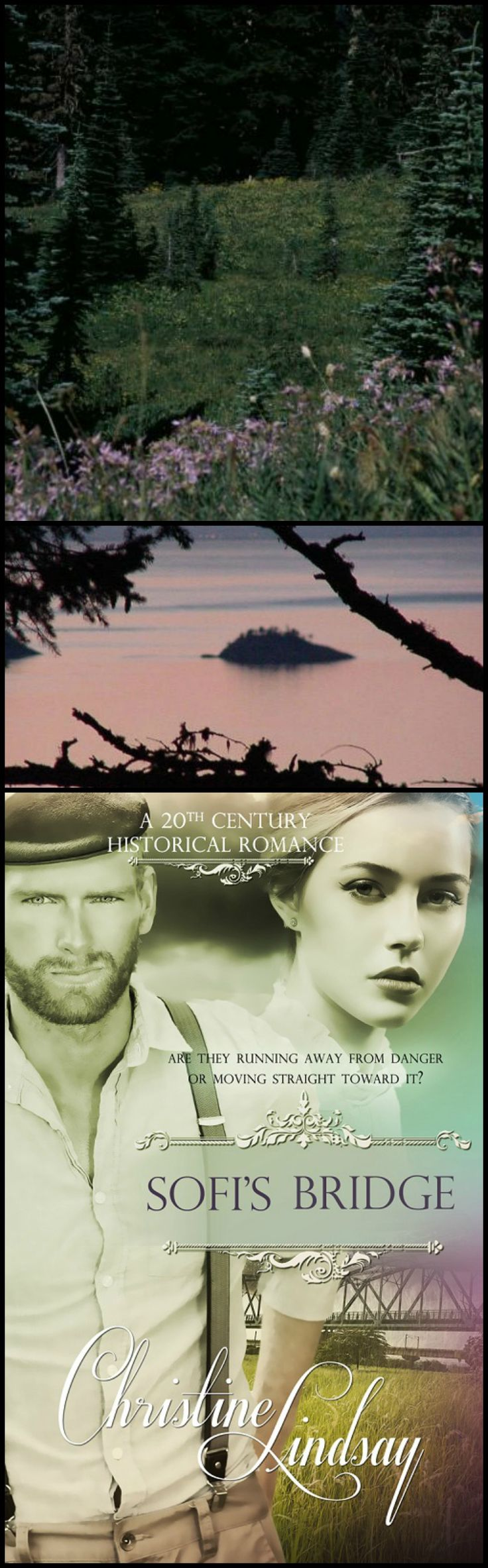 Historical romance set in Pacific Northwest. https://www.amazon.com/Sofis-Bridge-Christine-Lindsay/dp/1611165202/ref=sr_1_1?ie=UTF8&qid=1481237919&sr=8-1&keywords=sofi%27s+bridge