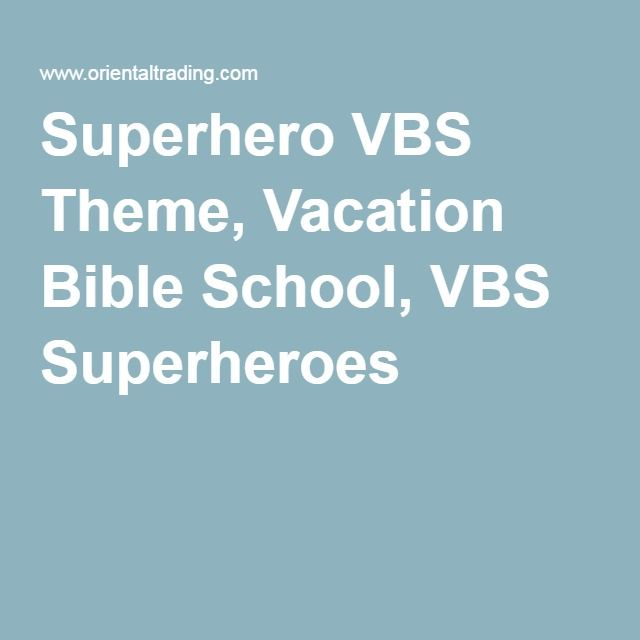 my experience volunteering with vacation bible school Vacation bible school (vbs) is a ministry outreach churches provide to educate children about god each church runs its own vacation bible school program but may use a purchased religious curriculum in its teachings.