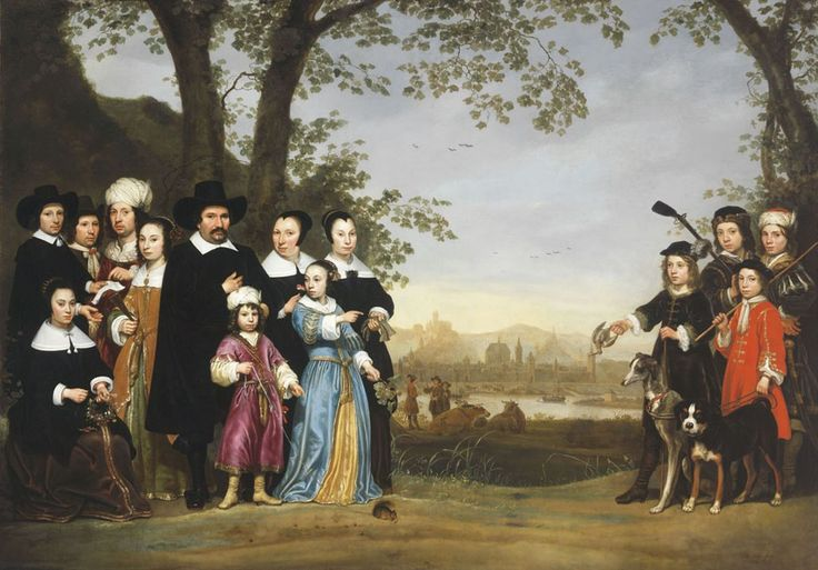 ab. 1653 Aelbert Cuyp Portrait of the Sam family
