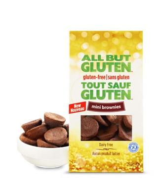 All But Gluten™ Mini brownies