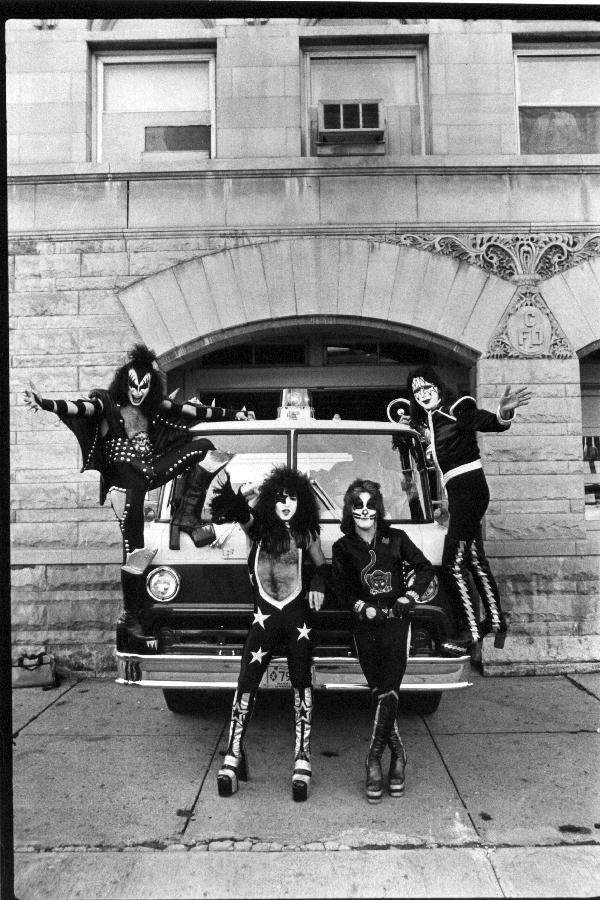 KISS at the firehouse.