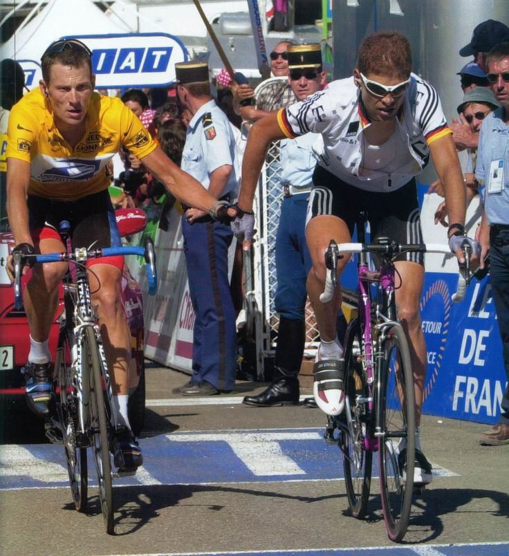 Lance Armstrong and Jan Ulrich