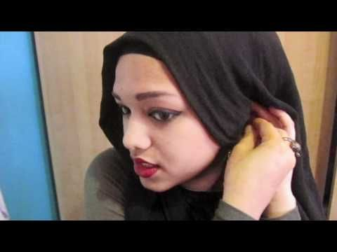 So cute! Maybe when I travel! Hijab Tutorial with Earrings