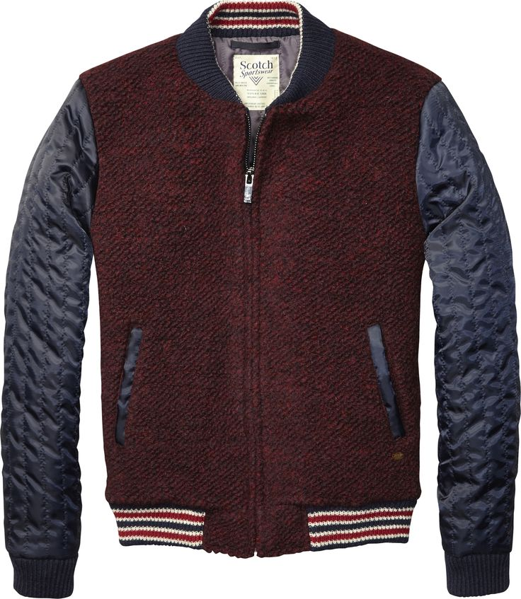 @Scott Buxman & Soda Get this awesome bomber in store now at @Harrods and stay away from the Aumtum chill!
