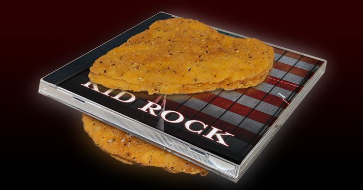 New Kid Rock Album Served Between Two Fried Chicken Patties #humor #funny #lol #comedy #chiste #fun #chistes #meme