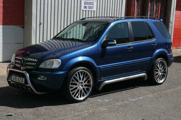"""Mercedes ml270 CDI LHD, 22"""" wheels, Lorinser Spoiler, AMG Wheel Arches, bose Sub.   eBay"""