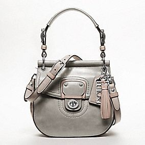 Coach Leather Colorblock Small New Willis