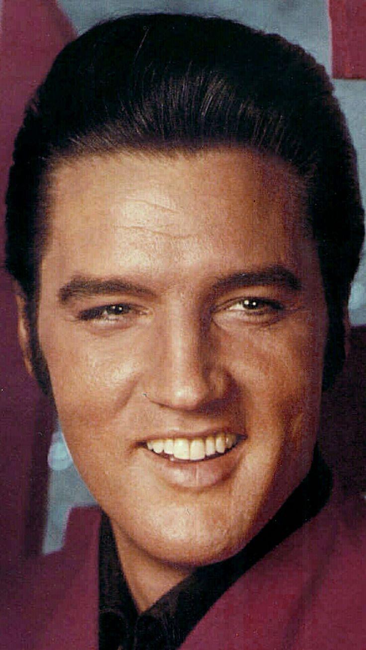 Elvis Presley, great smile.                              …