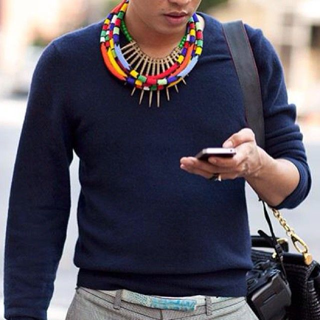Men with street style