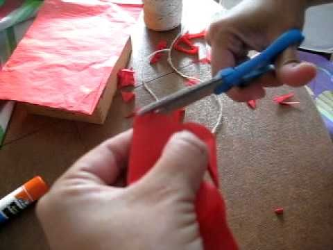 simple way to make Papel Picado