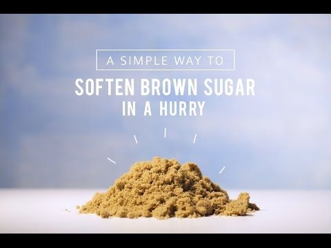 How to Soften Brown Sugar Quickly - Tiny Video | The Kitchn